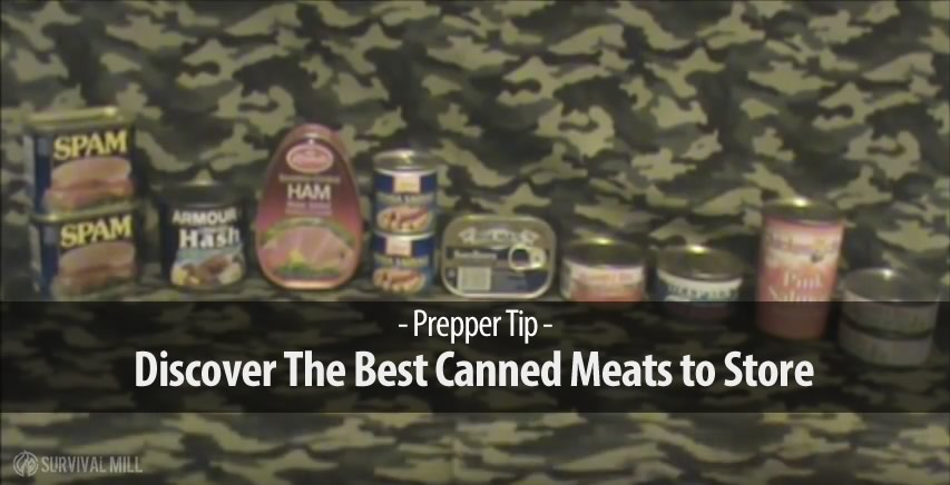 what cheap canned meats and fish have the longest shelf. Black Bedroom Furniture Sets. Home Design Ideas